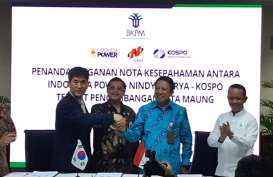 Deal! Nindya Karya, Indonesia Power, KOSPO Mulai Bangun PLTA Maung Tahun Ini