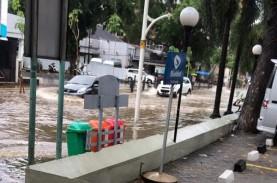 Wali Kota Jakpus Klaim Banjir di Cikini Cepat Surut