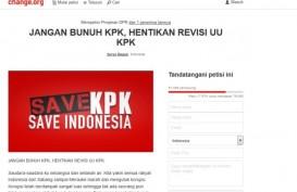 Change.org : Petisi Terbanyak Sepanjang 2019 Bertema Demokrasi dan Antikorupsi