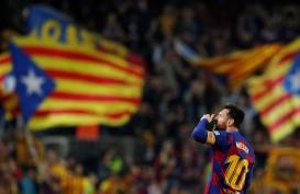 Lionel Messi Bawa Kemenangan Barcelona Atas Granada di Debut Setien