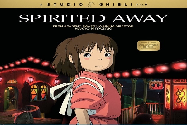 Cover film Spirited Away / Dok Amazon UK