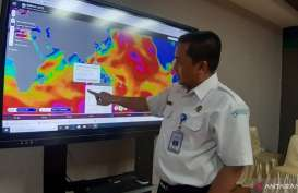 BMKG Prediksi Jakarta Hujan Lebat Hingga 23 Januari 2020