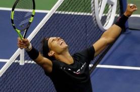 Nadal Tak Fokus Tumbangkan Rekor Grand Slam Federer