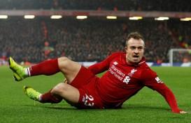 Liverpool Tolak Lepas Xherdan Shaqiri Meski Jarang Bermain