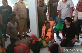 14 Penumpang Terselamatkan Saat KM Risvin Pratama Tenggelam