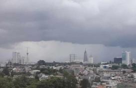 Cuaca Jakarta 22 Januari 2020, Hujan Disertai Petir di Jaksel dan Jaktim