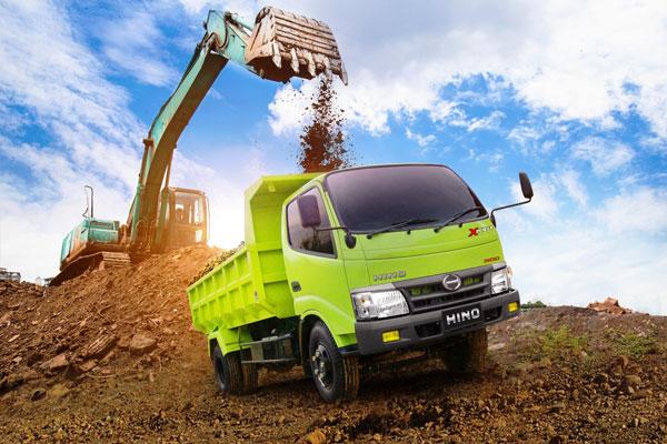 New Dutro 130 HD, truk ringan terlaris Hino 2018.  - HMSI