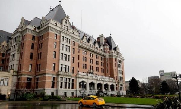 Fairmont Empress Hotel di Victoria, British Columbia, Kanada. Sumber: Reuters