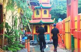 Polisi Sterilisasi Sejumlah Kelenteng di Banjarmasin