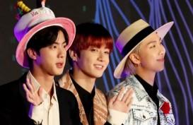 Jelang Grammy Awards, Mikrofon BTS Terjual Rp1,1 Miliar