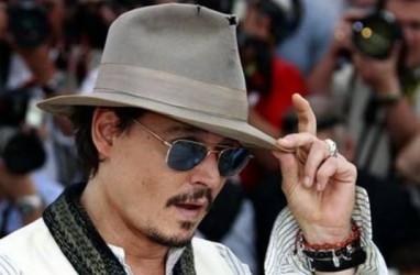 Johnny Depp Ikut Rayakan HUT Ke-50 Aerosmith