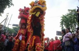Meriahnya Imlek di Tengah Kampung Cina, Arab, Jawa, dan Bali