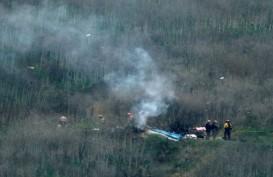 Detik-detik Helikopter yang Ditumpangi Kobe Bryant Jatuh dan Terbakar