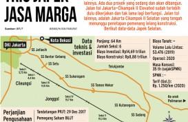 Tol Japek Selatan Sepanjang 27,85 Km Difungsikan Saat Lebaran