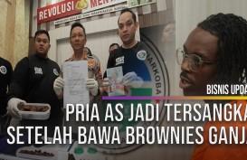 Bawa Brownies Ganja, Pria Amerika Serikat Ini Dibekuk Polisi