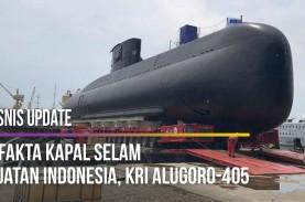7 Fakta Kapal Selam Buatan Indonesia, KRI Alugoro-405