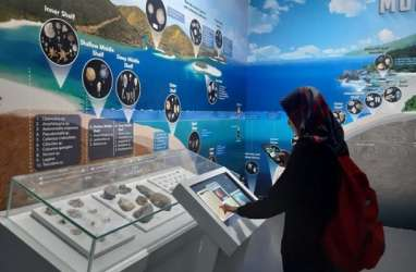 Ada Ruang Pamer 'Sejarah Kehidupan' di Museum Geologi Bandung