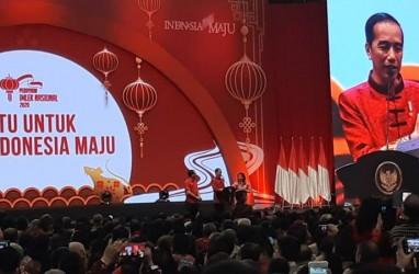 Hadiri Imlek Nasional 2020, Jokowi Kenakan Cheongsam Karya Anne Avantie