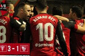 Sevilla Gagal ke 8 Besar Copa del Rey, Dihajar Tim…