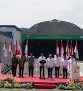 Jokowi Meresmikan Proyek Underpass Terpanjang di Indonesia