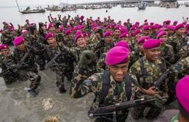 Korps Marinir ke Natuna Bantu WNI yang Dievakuasi dari China