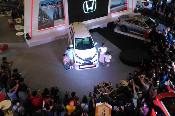 New Honda Mobilio Facelift. - Bisnis.com/MFM