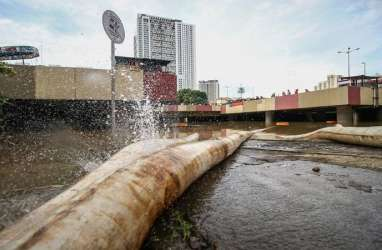 Underpass Kemayoran Terendam Banjir Jadi Sorotan di Zaman Anies Baswedan