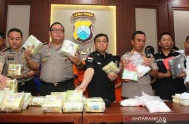 Pengiriman Sabu 15 Kg dari Malaysia Digagalkan