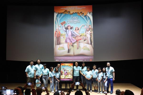 Peluncuran trailer dan poster film Buku Harianku di CGV Fx Sudirman, Jakarta, Selasa (4/2 - 2020). Syaiful Millah