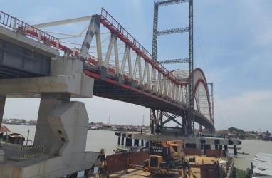 Jembatan Musi VI Palembang Ditargetkan Beroperasi Tahun Ini