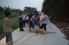 Pemkab Serang Tuntaskan Betonisasi Jalan Sepanjang 585,13 KM