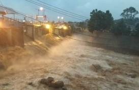 Bogor Hujan, Begini Kondisi Bendung Katulampa