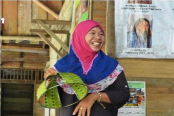 Ida Saparida menjadi salah satu penerima penghargaan Disney Conservation Fund 2019 Heroes dari Indonesia. - Disney