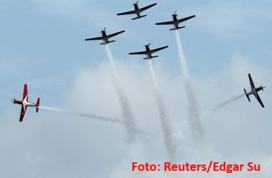 Lima Tim Aerobatik Dunia Dipastikan Atraksi di Singapore Airshow 2020