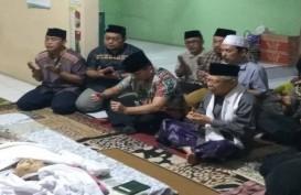 Wapres Ma'ruf Amin Melayat Mantan Sekjen PBNU Ahmad Bagja