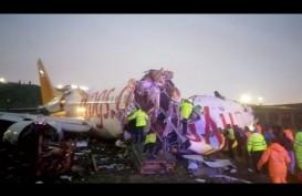 Boeing 737-800 Pegasus Airlines Tergelincir, 3 Orang tewas