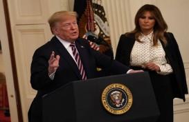 Trump Rayakan Kemenangan Lolos dari Pemakzulan