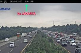Colt Diesel Terbalik di Jagorawi, Jalur Tersendat di Km 27 ke Bogor