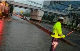 Titik–titik Lokasi Genangan Banjir di Jakarta Sabtu, 8 Februari 2020