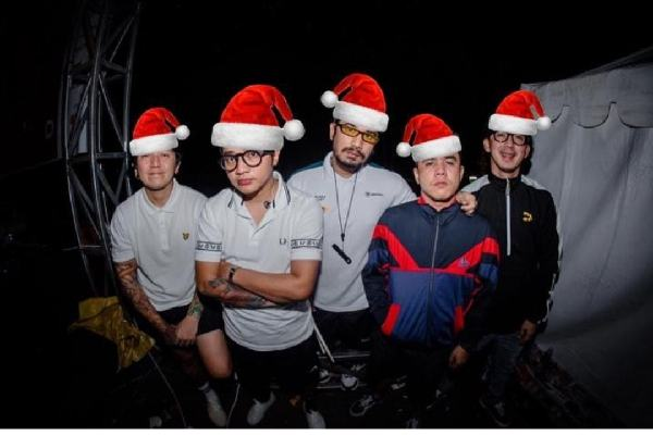 Grup band Pee Wee Gaskins - Instagram @pwgofficial