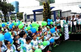 Pesan Gubernur Nurdin pada Aksi Berlari untuk Lingkungan Bank Sulselbar