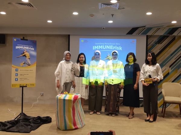 Acara Launching Pemeriksaan Baru IMMUNErisk Prodia, di GoWork FX Sudirman, Jakarta, Minggu (9/2/2020) - Syaiful MillahM