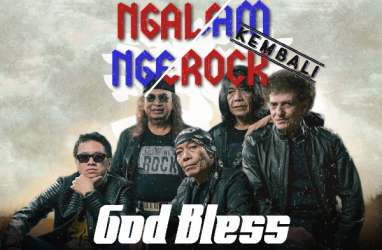 Godbless Bakal Tampil di 'NGALAM NGEROCKembali'