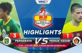 Persebaya Tekuk  Persik 3-1, Puncaki Grup A Piala Gubernur Jatim