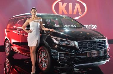 Ini Kia Carnival Hi-Limousine, Premium MPV Kia di Pasar India