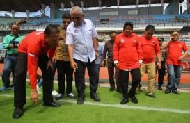 Tinjau Stadion GBT, Ketum PSSI Puji Keseriusan Pemkot Surabaya