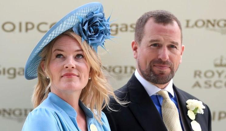 Peter Phillips dan istrinya - istimewa