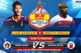 Madura United vs Persik Kediri Live Sekarang