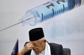 Ma'aruf Amin: Program Vaksin Masih Terbentur Isu Halal