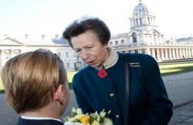 Gantikan Pangeran Harry, Putri Anne Kapten-Jenderal Wanita Pertama Angkatan Laut Inggris